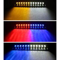 12LED Auto LKW Frontblitzer Blitzlicht Warnleuchte Strobe Licht 12V Notfall Lamp