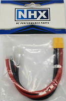 """NHX XT60 Female to 2 Tamiya Male Parallel 12 AWG 6"""" Silicone Wire Harness"""