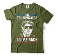 The Trumpinator I'll be back 2024 Trump Tee shirt