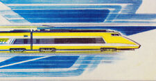 France Sheet Exhibition CEF 736 S Premiere Linkage by Bullet Train Postal