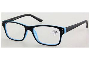 Hochwertige Lesebrille Business-Style mit großen Gläsern Flexbügel NEU