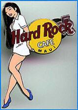 Hard Rock Cafe MAUI 2002 Girls of Rock Series PIN GOR #1 WHITE Uniform