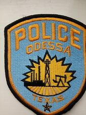 UK Seller: Odessa Texas police patch