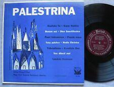 Palestrina - Sistine Chapel Choir Bartolucci LP Period Records SPL 744 1956 VG