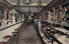 Salem Oregon Spa Confectionery Interior Store Antique Postcard (J35084)