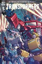 Transformers #5 Main Cover STOCK PHOTO IDW 2019