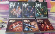 DVD Star Wars La guerra de las galaxias Episodio I II III IV V VI George Lucas