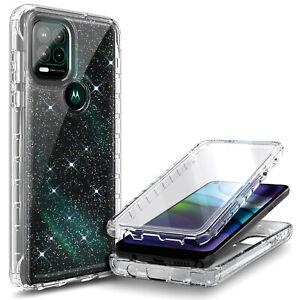 For Motorola Moto g stylus 5G 2021 Full Body Case + Built-In Screen Protector