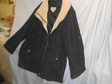 Womens Navy Blue & Khaki Worthington Fall Lined Fall Jacket
