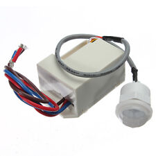 220V Mini PIR Motion Sensor Detector for 12V DC Timer Relay Relay Automotive Car