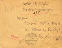 Polonia. Sobre Yv . 1931. Valor Declarado de VARSOVIA a NEVILLY (FRANCIA). Al d