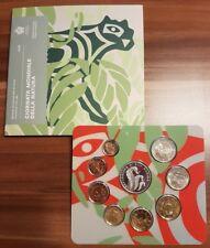 San Marino 2018 BU set KMS Divisionale serie zecca 9 monete 8,88 folder argento