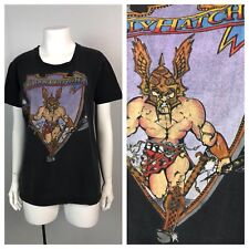 Vintage 1970s 1980s Molly Hatchet Southern Rock Metal Concert T Shirt S