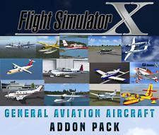 Simulatore di volo X FSX Addon Bundle-AVIAZIONE GENERALE VELIVOLO - 20+ NUOVO!