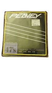 Peavy bass guitar strings (3 of 4) pack.
