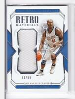 2018-19 Glen Rice #/99 Jersey Panini National Treasures Clippers
