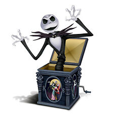 Tim Burton NIGHTMARE BEFORE CHRISTMAS Jack-In-The-Box Figurine NEW