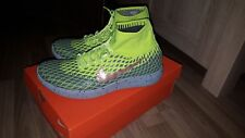 Nuove NIKE lunarepic Flyknit SHIELD GIALLO 44 US 10 Giallo Neon OVP out of sale
