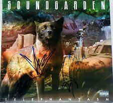 SOUNDGARDEN HAND SIGNED AUTOGRAPHED TELEPHANTASM ALBUM X4 CORNELL/JSA LOA PROOF