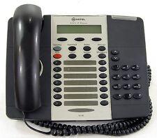Mitel 5220 VOIP Phone W/ 5422 PKM Module Dark Grey Business Office Phone