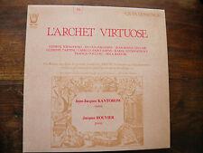Quintessence - disque arion 31954 - l'archet virtuose - Kantorow - Rouvier