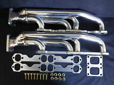 CHEV SMALL BLOCK STAINLESS STEEL FRONT MOUNT TWIN TURBO MANIFOLD