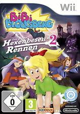 Bibi Blocksberg: Das große Hexenbesenrennen 2 (Nintendo Wii, 2013, DVD-Box) neu