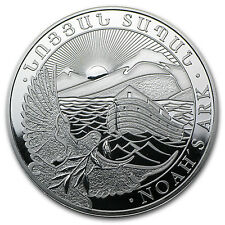 2014 Armenia 1 oz Silver 500 Drams Noah's Ark Coin - SKU #79592