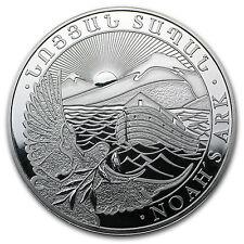 2014 Armenia 1 oz Silver 500 Drams Noah's Ark BU - SKU #79592