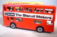 "Matchbox SF Nr.17B The Londoner rot ""Jacob's Biscuits"""