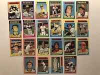 1975 Topps SAN DIEGO PADRES Team Set DAVE WINFIELD Willie McCOVEY Randy JONES