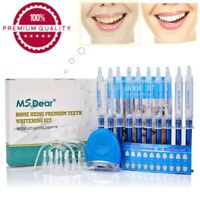 Teeth whitening kit with led light Peroxide Bleaching Tooth Whitener Oral Gel