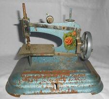 JOUET ANCIEN ancienne machine a coudre en tole , baby vintage des années 1950 60
