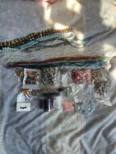Job Lot Of Beads And Findings Bicone Strands Swarovski Pearls