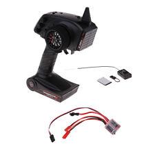 1/16 AX5S Remote Transmitter Receiver & 30A Brake ESC for WPL C24 B16 B24 RC Car