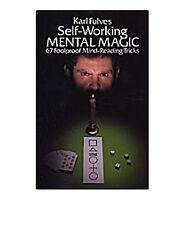BRAND NEW BOOK - Self Working Mental Magic by Karl Fulves
