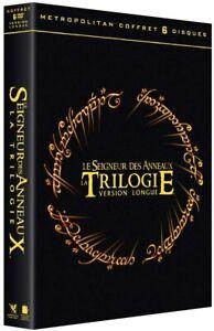 LE SEIGNEUR DES ANNEAUX TRILOGIE VERSION LONGUE DVD NEUF SOUS CELLOPHANE