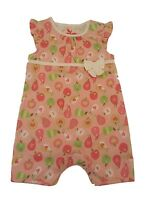 BABY GIRLS ROMPER PLAYSUIT ALL IN ONE SUMMER OUTFIT EX CHAIN 0-24M