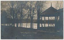 Night View, Pavilion, Jersey Shore, Pennsylvania 1912 RPPC