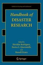 Handbooks of Sociology and Social Research: Handbook of Disaster Research (2009,