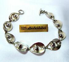 Hermann Siersbol Armband Silber 925 Modernist Dänemark old bracelet / BR 086