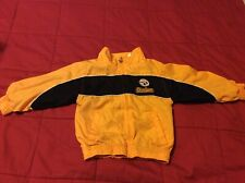 Toddler Pittsburgh Steelers NFL Jacket Sz 2T