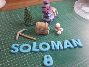 Fornite Edible Loot Llama Cake Topper Decoration