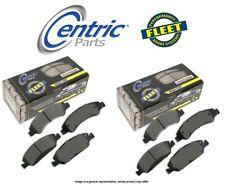 [FRONT + REAR SET] Centric Parts Fleet Performance Disc Brake Pads CT97596