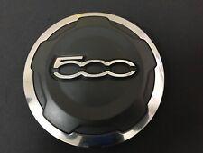 Fiat Abarth 500 OEM Wheel Center Cap Black Chrome Finish 735574469