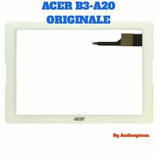 TOUCH SCREEN+VETRO PER ACER ICONIA ONE 10 B3-A20 +BIADESIVO COLLA BIANCO DISPLAY