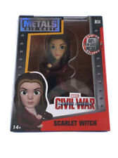 "Jada Toys Die-Cast Metals Scarlet Witch 4"" Inch Figure Marvel Civil War New M134"