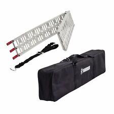 1 x Warrior Folding Aluminium Motorcycle/Bike/Motorbike/MX Loading Ramp & Bag