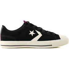 new Converse ALL Star Player Low Leather Sneakers Trainers UK9 RRP £54.99