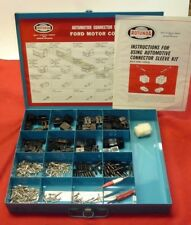 NOS Ford Rotunda Wire Connector & Pin Kit 1960's Original Terminal Tools & Plugs